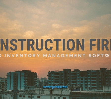 inventory management for construction firms